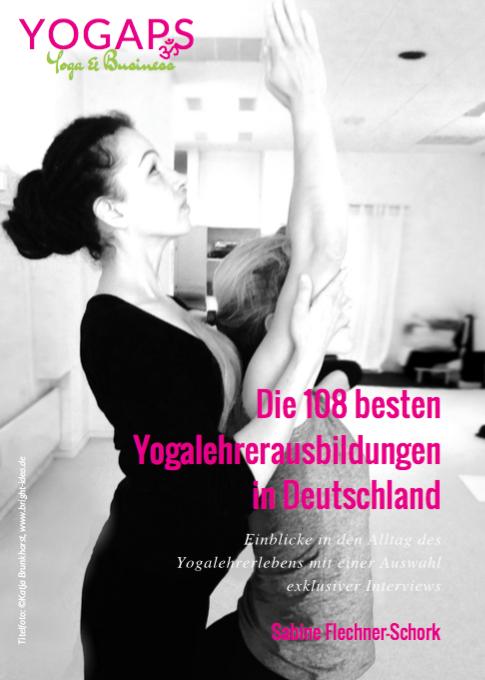 Die 108 besten Yogalehrerausbildungen in Deutschland - Buchcover